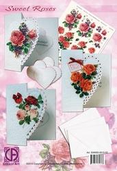 Creatief Art SWK85-0015-02 Staf Wezenbeek Sweet Roses