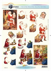 3D Kerstknipvel Universal Pictures 331 Kerstman