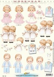 Morehead A4 Knipvel 188 Communie jongen/meisje/tweeling