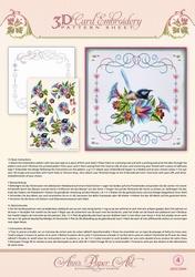 3D Borduur/knipvel Ann Paper Art 3004 Morning Glory