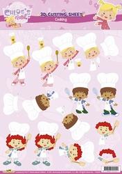 3D Knipvel Cloe`s Closet CC10003 Cooking
