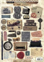 A4 Stansvel Studio Light 353 Vintage type machine/radio ea