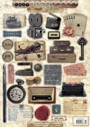 A4 Stansvel Studio Light EASYSL353 Vintage typemachine/radio