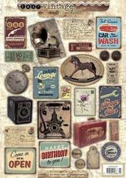 A4 Stansvel Studio Light EASYSL354 Vintage gramofoon/telefoo