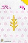 Nellie's Shape Die SD021 Pine branch