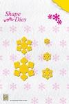 Nellie's Shape Die SD022 Folding Flower-1