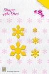 Nellie's Shape Die SD023 Folding Flower-2
