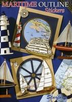 Boekje Starform Maritime Outline Stickers