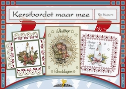 Hobbydols 105 Kerstbordot maar mee + 12 stickers