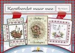 Hobbydols 105 Kerstbordot maar mee +  7 hobbydots stickers