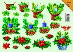 VBK 3D PushOut PO09 Kerst