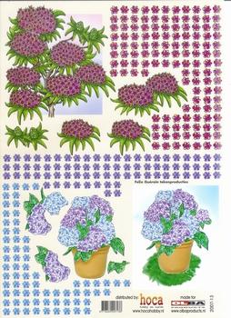 Olba 3D knipvel nr 13 bloemen