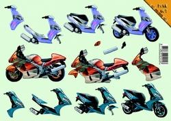 VBK 3D PushOut PO1015 Scooter