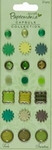 Docrafts Papermania 353013 Brads verde