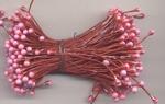 Doe Maar Meeldraden 0307 glans rood/roze