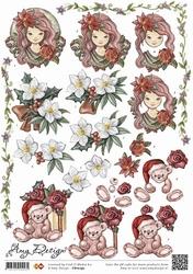 3D Knipvel Amy design CD10297 Kerst Diverse