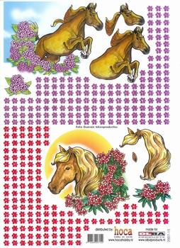 Olba 3D knipvel nr 15 paarden