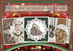 Hobbydols 107 Hobbydots net even anders + 25 stickers