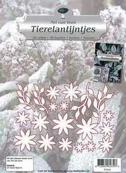 Stansfiguren Tierelantijntjes N1414 blaadjes/takjes