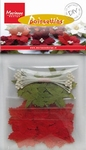 MD DIY Poinsettias RB2220 Red christmas roses
