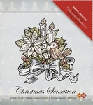 Stempel Yvonne Creations 10021 Bloemen & kaarsen