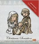 Stempel Yvonne Creations 10020 Geboorte van Jezus