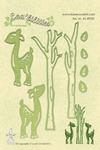 LeCreaDesign Lea bilities 458930 Deer & trees Hertjes & bome