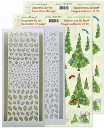 LeCreaDesign 50.9357 Kerstboom 3D set