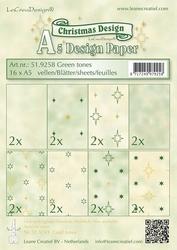 LeCreaDesign papier 519258 assorti Christmas green tones