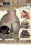 Studio Light 3D Mini boek 77 Vintage Line Decoratie