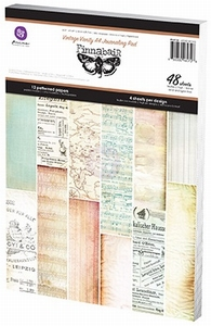 Prima Marketing A4 Paper Pad 960728 VintageVanity