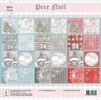 Rosa Dotje 21103 Achtergrond papier Père Noël