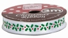 Docrafts Anita's Christmas Ribbon ANT 367916 Holly/hulst