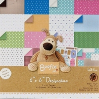 4- kant Paper pack Boofle 160201 16 Glittered/24 Double-Side