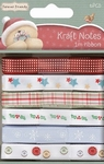 Forever Friends Ribbon  X-mas Kraft Notes