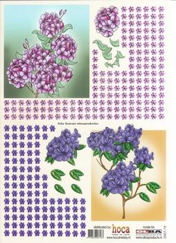 Olba 3D knipvel nr 18 bloemen