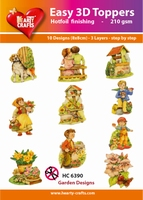Hearty Crafts Easy 3D Toppers  HC6390 Tuin decoratie