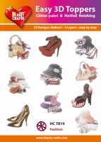 Hearty Crafts Easy 3D Toppers  HC7819 Fashion