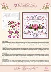 3D Borduur/knipvel Ann Paper Art 3011 Garden Enchanted