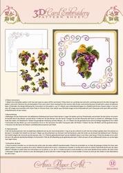 3D Borduur/knipvel Ann Paper Art 3012 Grapevine