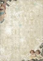 A4 Studio Light Vintage Kerst Line Papier BA4-134