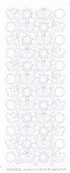 Stickervel Voorbeeldkaarten Transparant 3003 Insecten