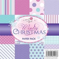 Wild Roses Studio Paper Pack PP022 Wintry Christmas
