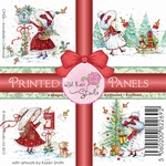 Wild Roses Studio Printed panels CP006 Annabelle`s Christmas