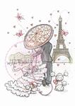Wild Roses Studio Stamp CL367 Parisian Stroll