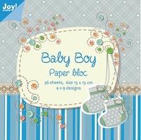 Joy! Papierblok 6011-0024 Baby boy