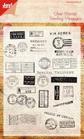 Joy Clear stamps 6410-0025 Postcard stamps