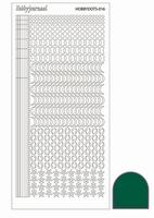 Stickervel Hobbydots Adhesive STDA162 Green