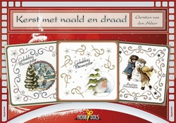Hobbydols 112 Kerst met naald en draad + poster 112