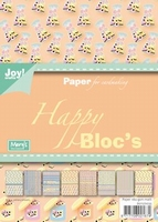 Joy! A5 Paperbloc 6011-0035 Sweet engelse drop